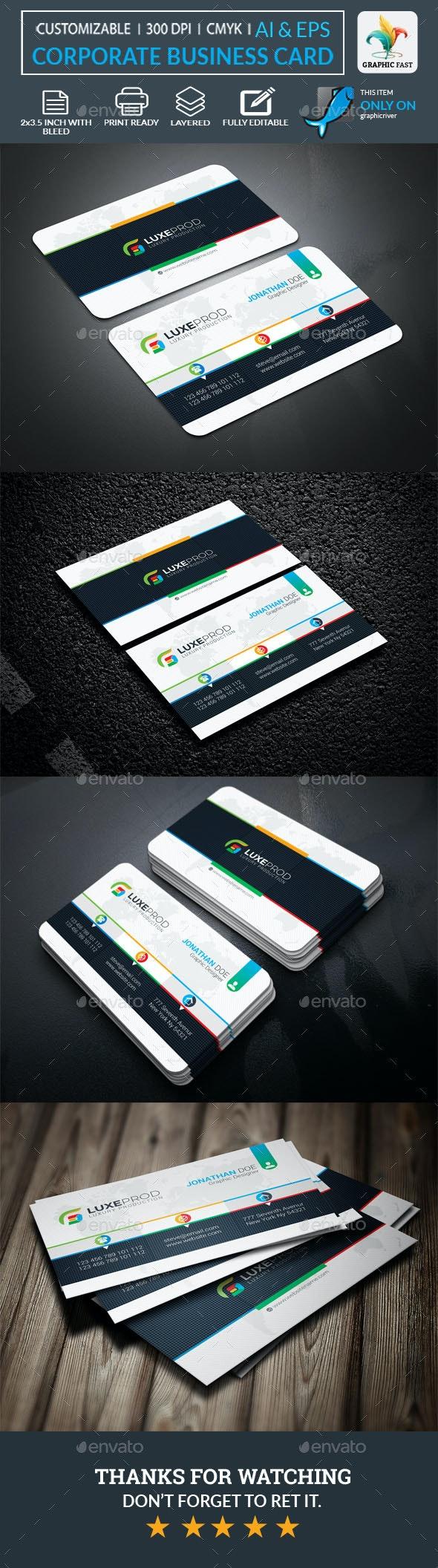Carte professionnelle entreprise 2