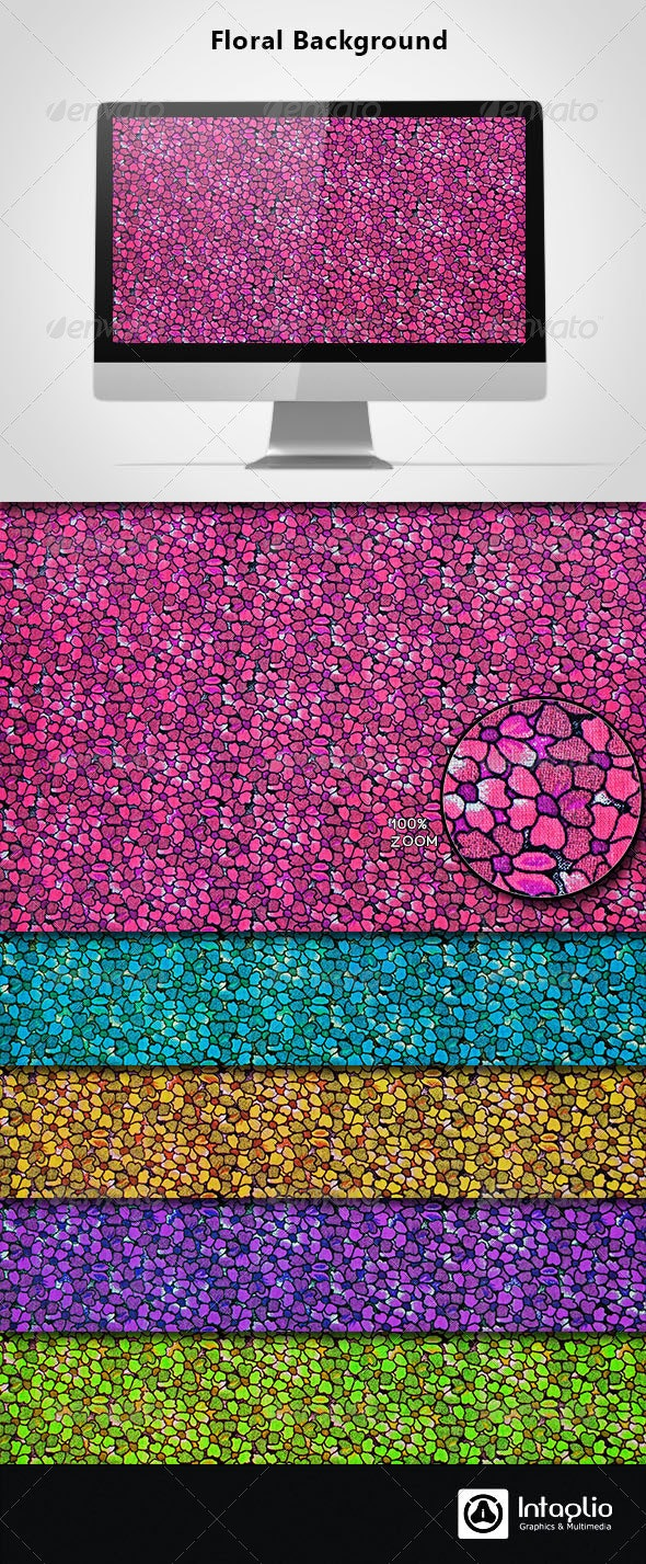 Floral Background 06 - Backgrounds Graphics