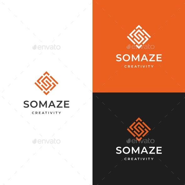 Maze S Letter Logo - Letters Logo Templates