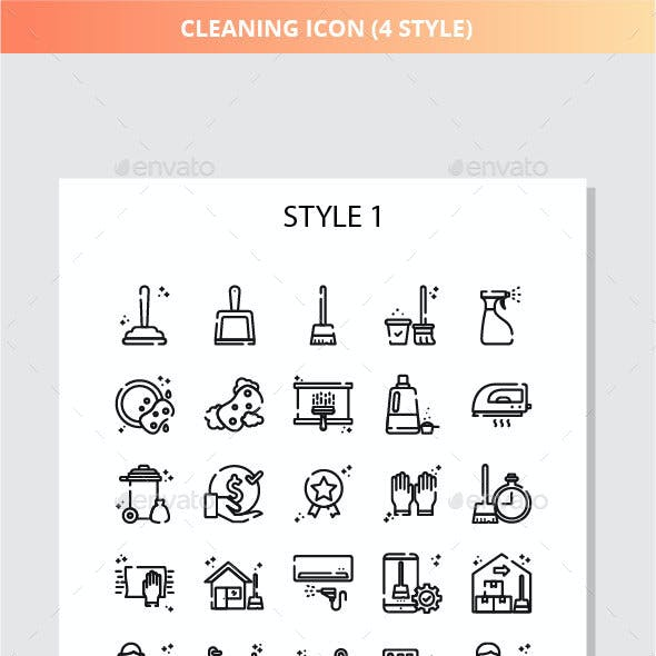 Cleaning Iconset