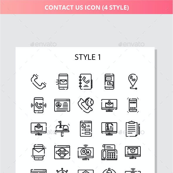 Contact Us Iconset