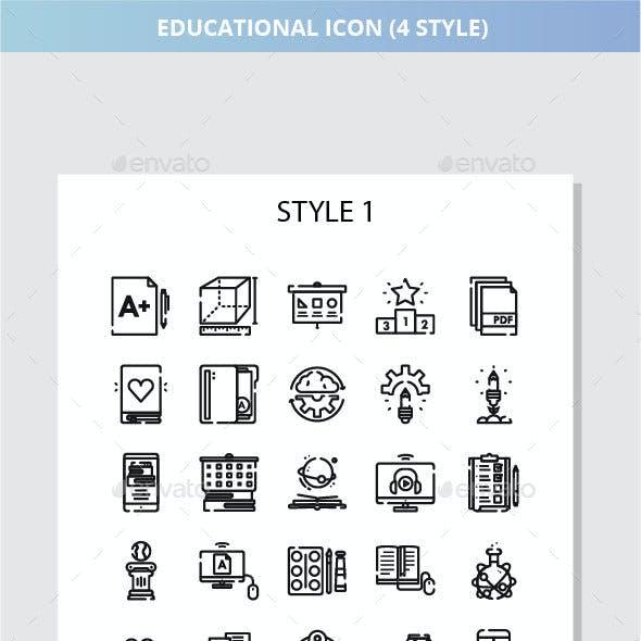 Educational Iconset