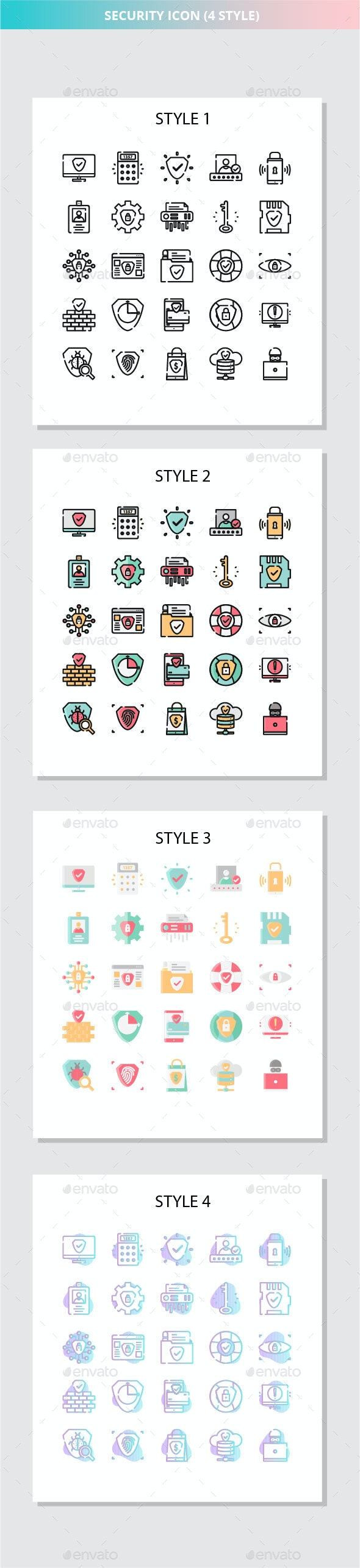 Security Iconset - Business Icons