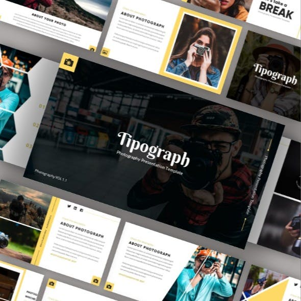 Tipograph - Photography Keynote Template