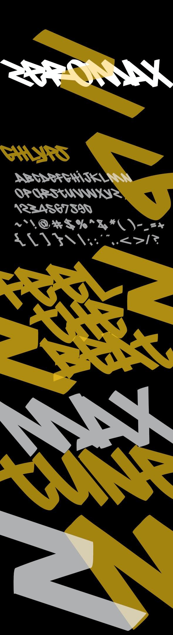 Zeromax - Graffiti Fonts