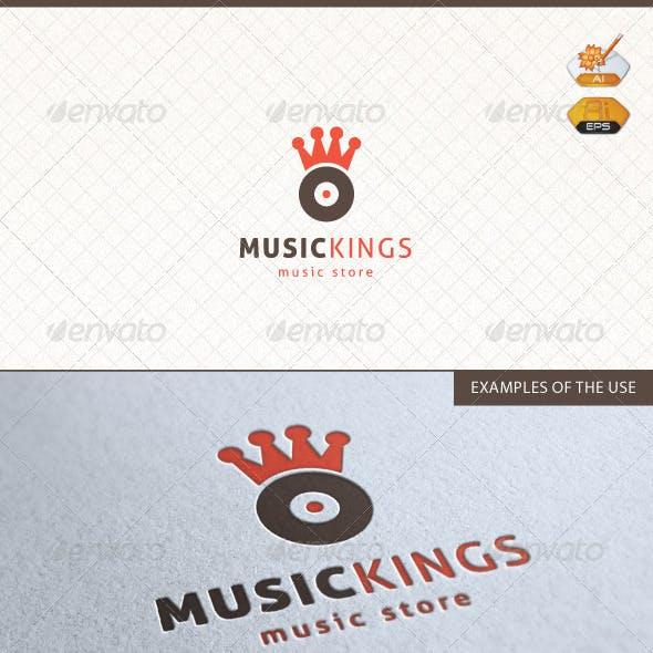 Music Kings Logo Template