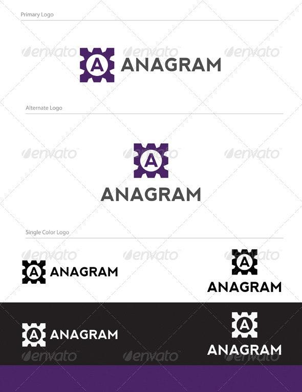 Anagram Logo Design - LET-025 - Letters Logo Templates