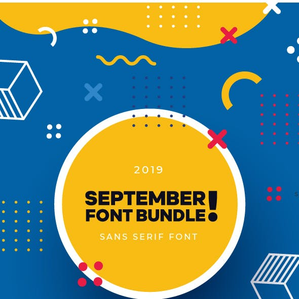 The September Font Bundle