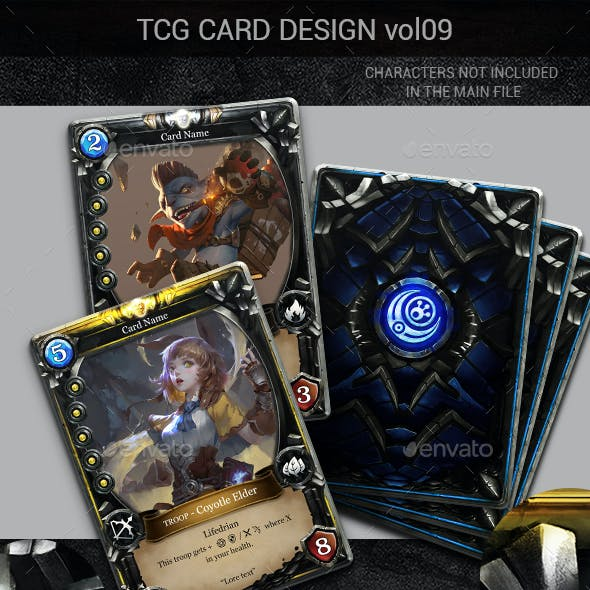 TCG Card Design Vol 9