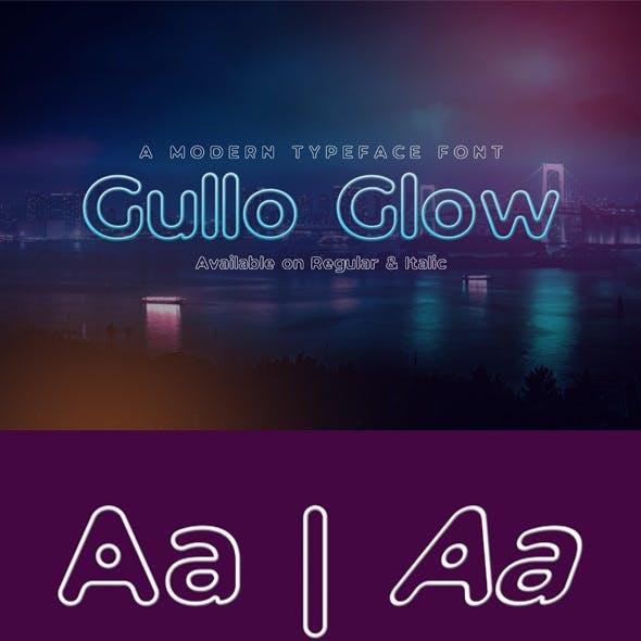 Gullo Glow Font
