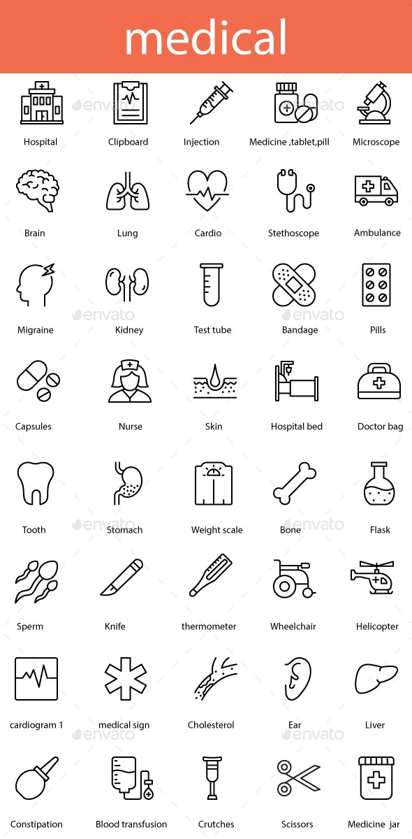 Medical - Miscellaneous Icons