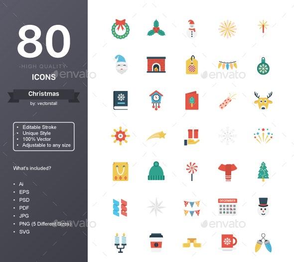 Christmas - Seasonal Icons