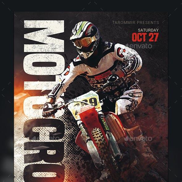Motocross Sport Flyer