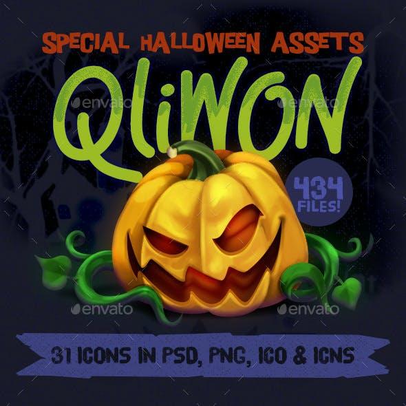 Qliwon: Halloween Iconic Set