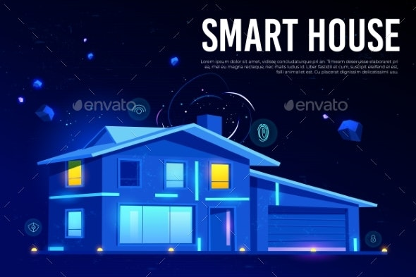 Smart House and Artificial Intelligence Technology - Technology Conceptual