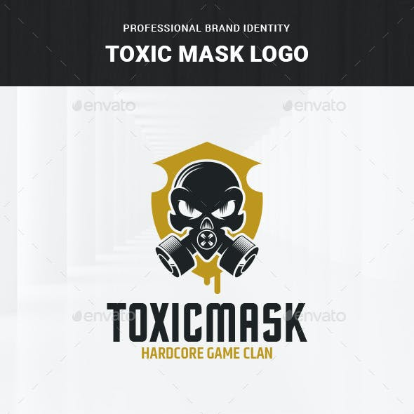 Toxic Mask Logo Template