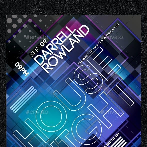 Abstract Nightclub Flyer
