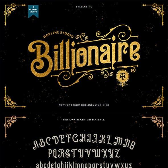Billionaire typeface