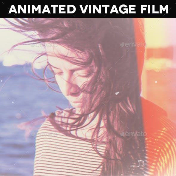 Animated Vintage Film Template