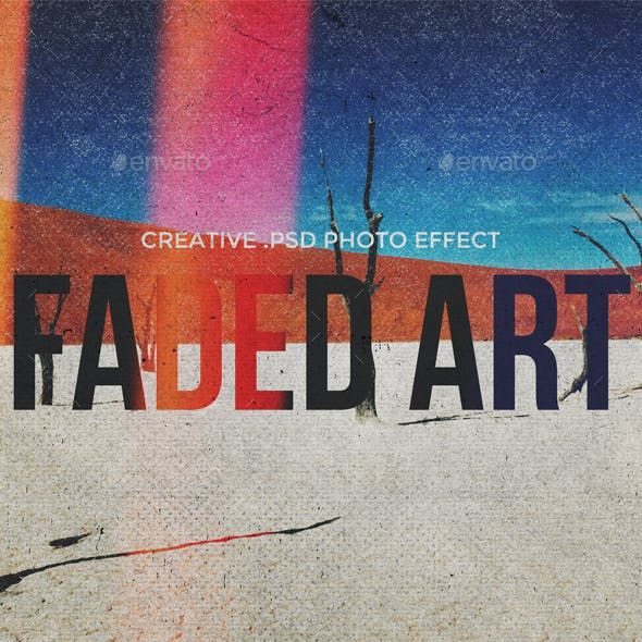 Faded Art - Creative Template