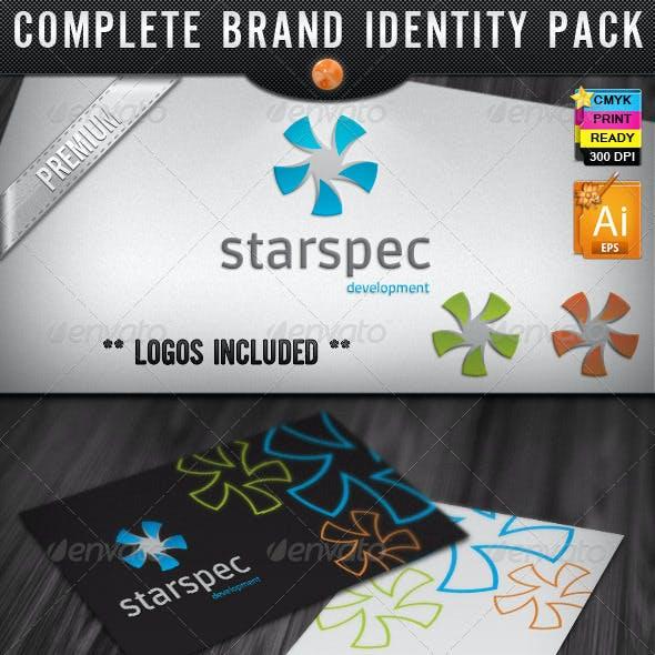 Star Spectrum Web Development Identity Designs