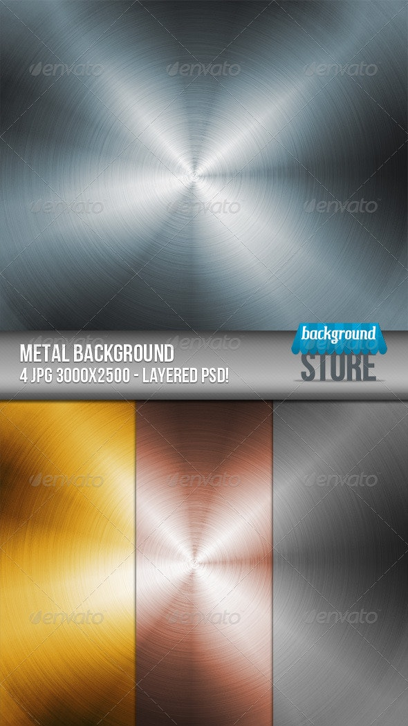 Metal Background - Tech / Futuristic Backgrounds