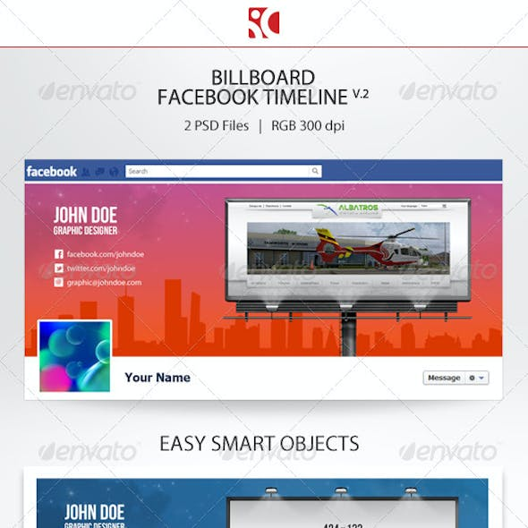 Billboard Facebook Timeline v.2