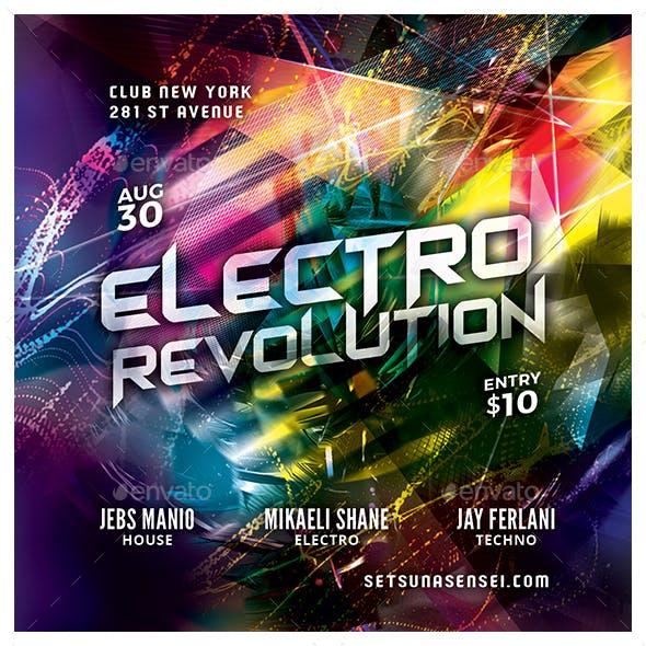 Electro Revolution Flyer