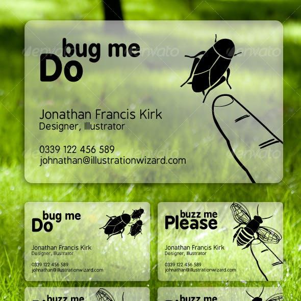 Bug Me, Buzz Me Business Cards
