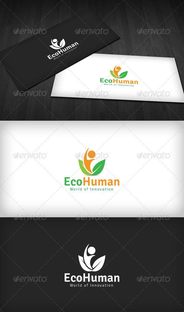 Eco Human Logo - Humans Logo Templates