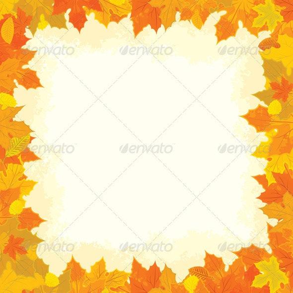 Autumn Frame - Borders Decorative