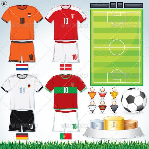 Euro 2012 Group B - Sports/Activity Conceptual