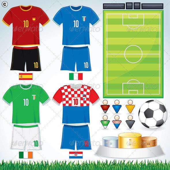 Euro 2012 Group C - Sports/Activity Conceptual