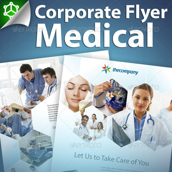 Corporate Flyer Medical