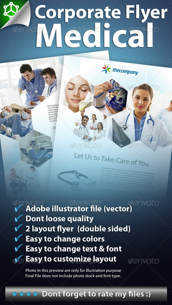 Corporate Flyer Medical - Corporate Flyers