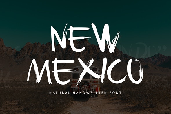 New Mexico - Handwriting Fonts