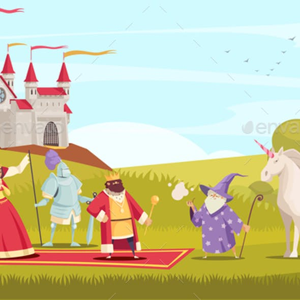 Fairy Tale Characters Background
