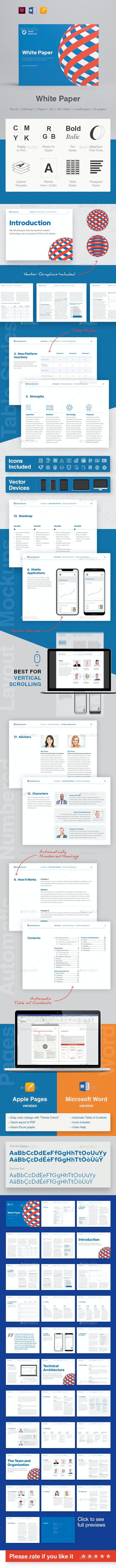 Landscape White Paper - Corporate Brochures
