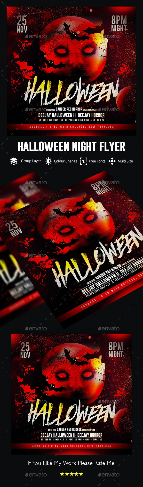 Halloween by GOURAVDESIGNS | GraphicRiver