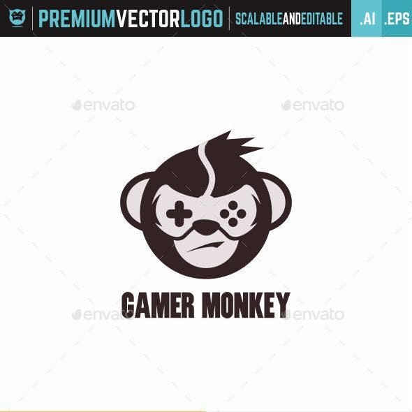 Gamer Monkey Logo