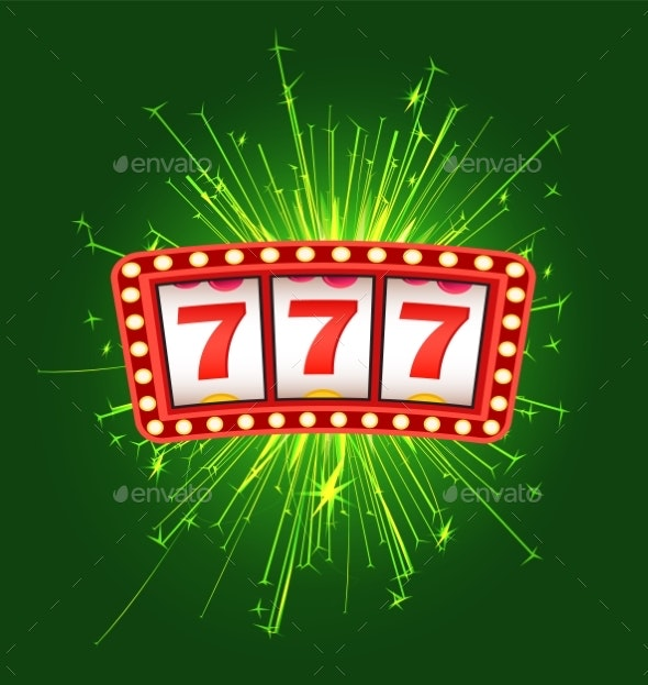 777 Icons Game Machine Vector - Backgrounds Decorative
