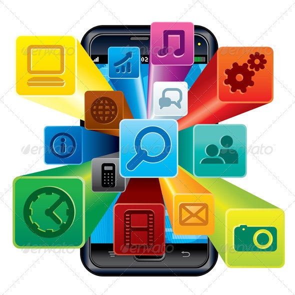 Phone Apps - Communications Technology