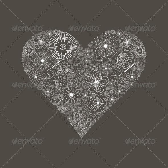 Wedding heart6 - Valentines Seasons/Holidays