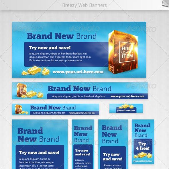 Breezy Web Banners