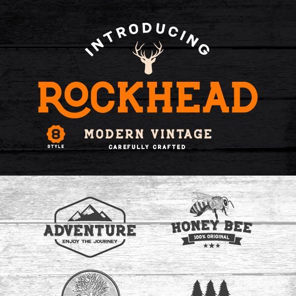 Rockhead Family font