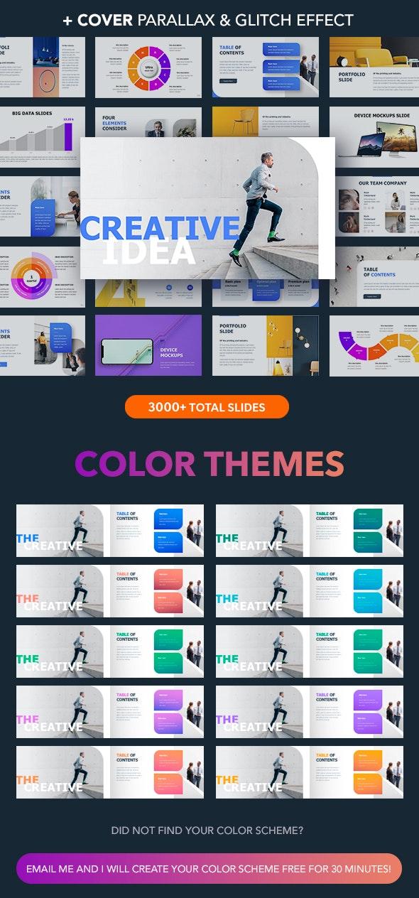 Creative Idea - Creative PowerPoint Templates