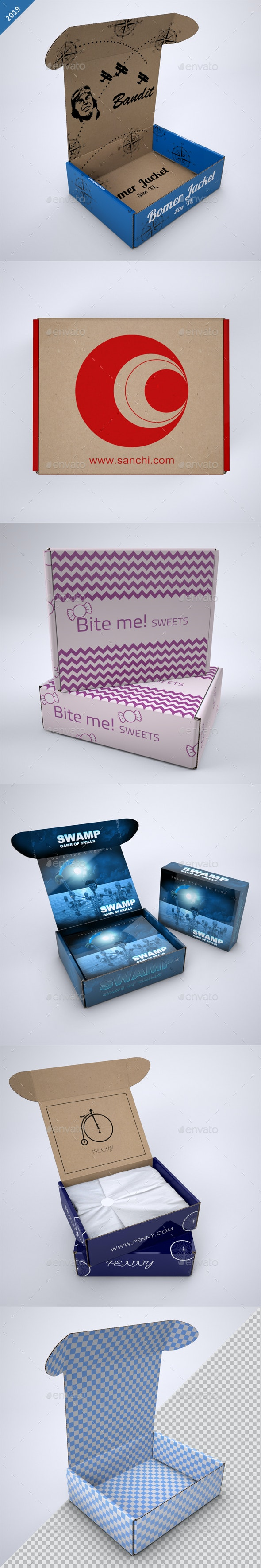 Subscription Box Mock-Up - Product Mock-Ups Graphics