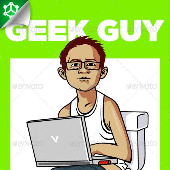 Geek Guy @toilet