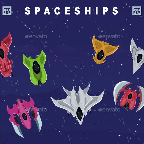 Spaceship Game Assets from GraphicRiver