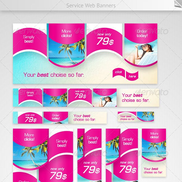 Service Web Banners